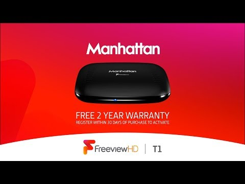 Manhattan T1 Freeview HD box overview