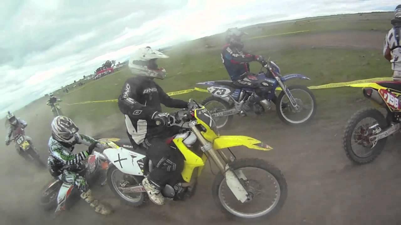 Dirt Bike Crash, Arm Gets Caught in Rear Wheel.Wildwood VVMCC ...