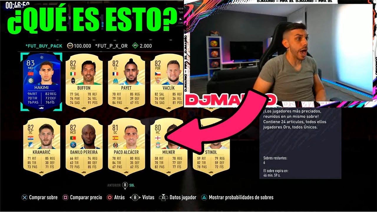 DjMaRiiO REACCIONA A LOS NUEVOS SOBRES DE FIFA 21