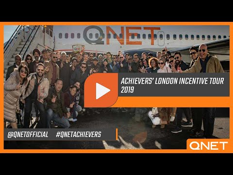 QNET Corporate | Achievers London Incentive Tour '19 [After movie]