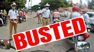 Kindest Bangalore Traffic Police Cop | Pulled Over in India | Bad Drivers of Bangalore
