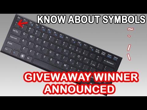 Computer Keyboard Symbols Myhiton