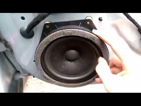 Bmw Mini Cooper Door Card Removal Speaker Upgrade R50 R52 2001 2006 You