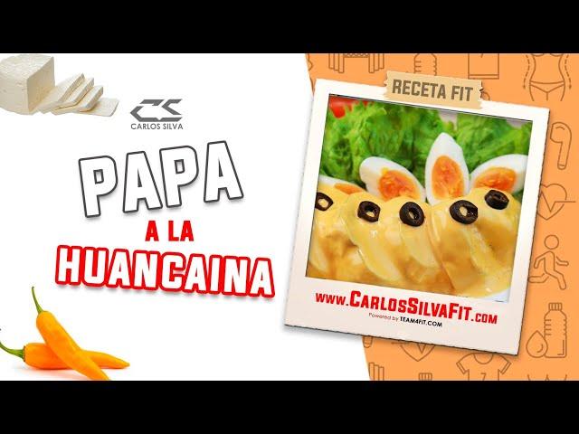 RECETA FIT - PAPA A LA HUANCAINA