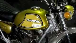 1972 Honda SL350K2 For Sale / Walk Around Video - Honda of Chattanooga Vintage Honda Motorcycles