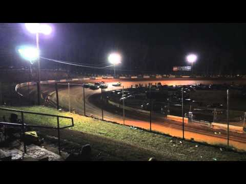 West Georgia Speedway, Whitesburg, Georgia - Racing action!