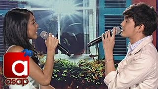 "James, Nadine sing ""When You Say Nothing At All"" on ASAP"