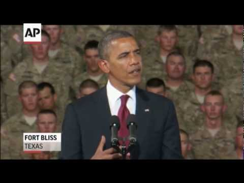 Obama Vows Help to Soldiers, Marks Iraq War End