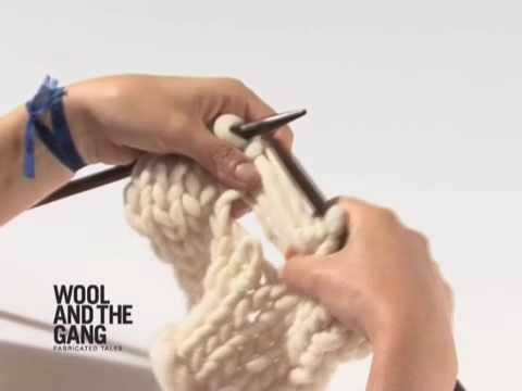 02 ladder stitch how to knit tutorials by wool and the - Gang and the wool ...