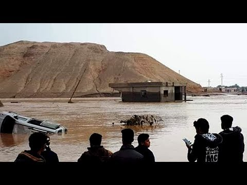 Catastrophic Flooding in Shirqat, Iraq (Nov 23, 2018)