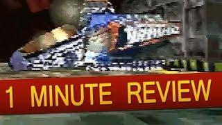 Sega Saturn - Tunnel B1 (1 Minute Review)