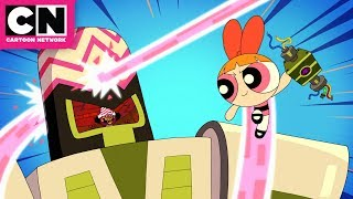 Powerpuff Girls | Mojo Jojo's Snuggle Toy Kidnapping | Cartoon Network