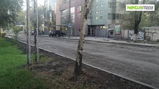 Ta'mirlash oktyabr 30 uchida kerak ko'chasi Moskva, kabi ko'rinadi.