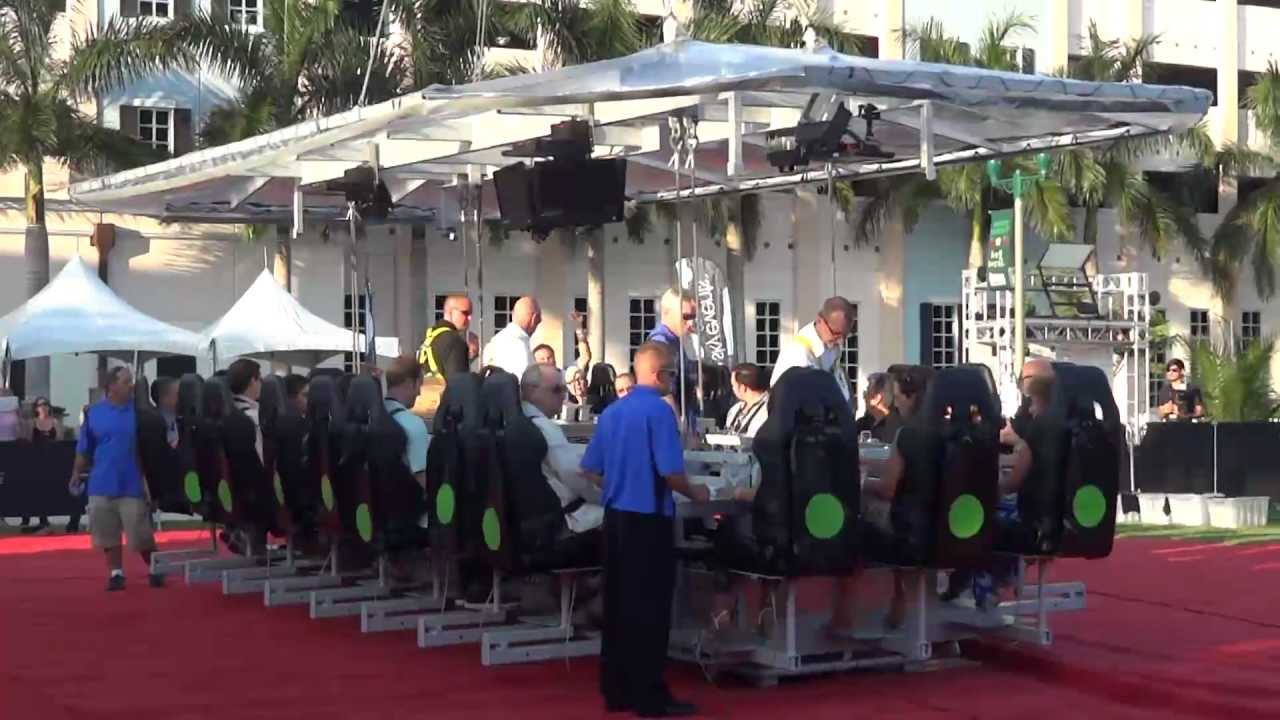Dinner In The Sky Delray Beach FL YouTube - Dinner in the sky an unforgettable experience