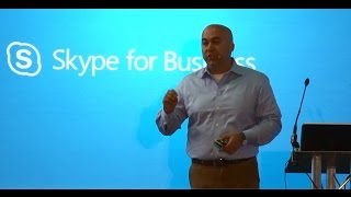 UC EXPO 2015 - Giovanni Mezgec, Microsoft, Skype for Business - Part 1