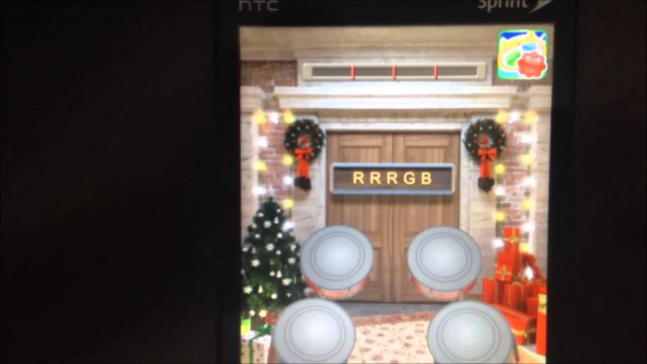 100 doors 2013 christmas walkthrough levels 9 10 11 12 for 100 doors 2013 door 11