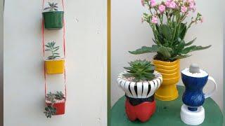Criatividade em Vasos Recicláveis