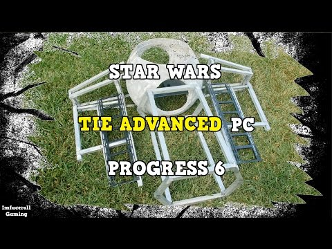 Star Wars TIE Fighter Advanced Watercooled PC Build Progress 6 - PC MOD BUILT INTO A TIE FIGHTER