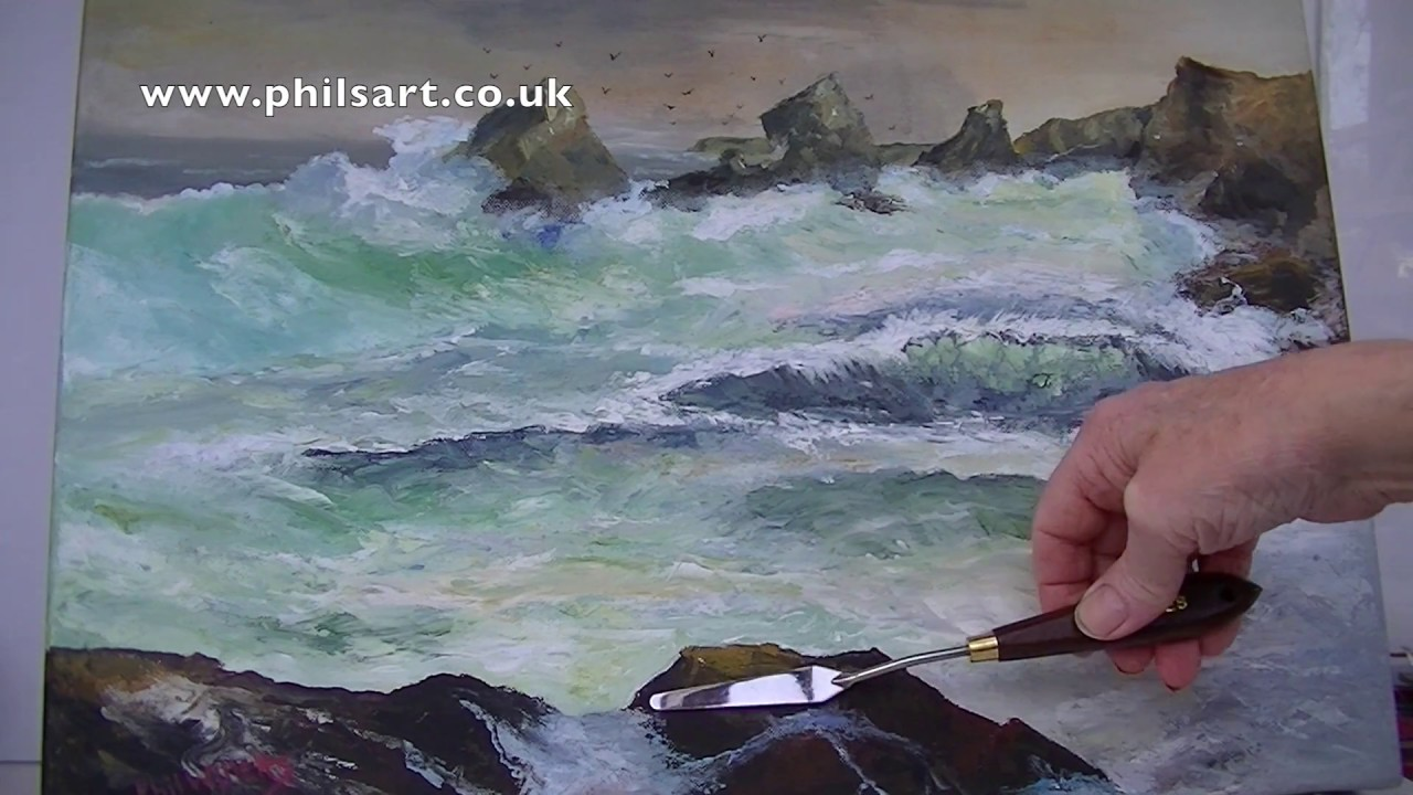 Knives Out Painting