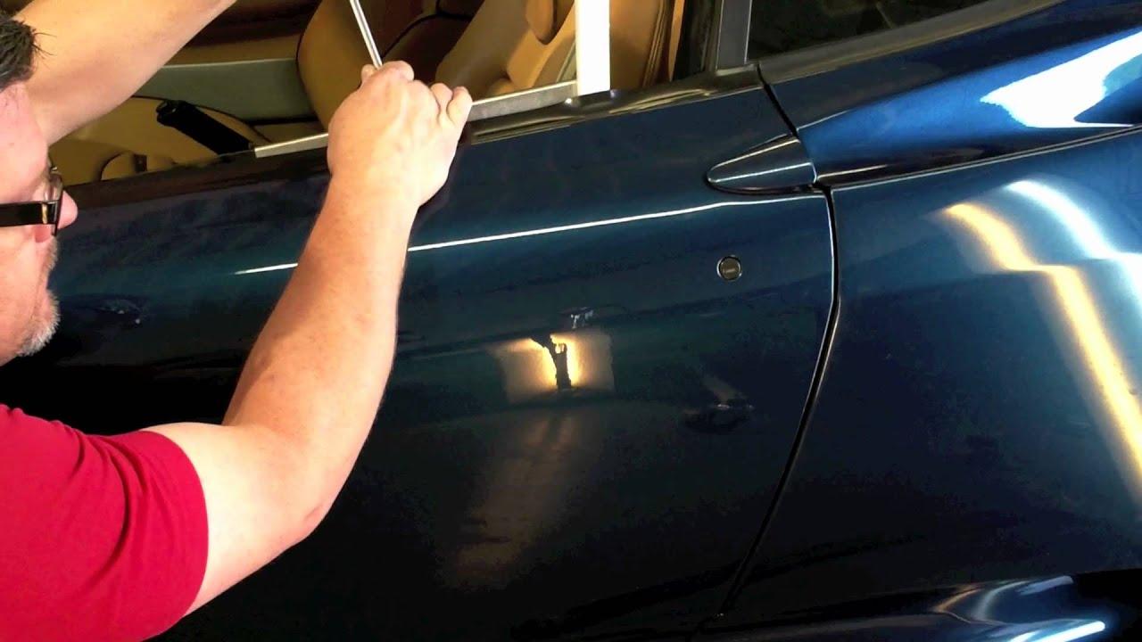 Paintless Dent Repair San Antonio Texas Youtube