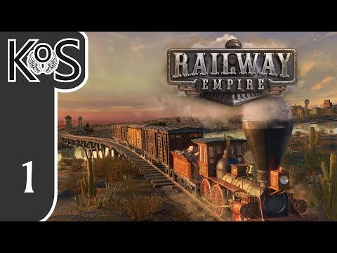 Railway Empire LIVESTREAM! - (Sponsored) -  Let's Play, Gameplay