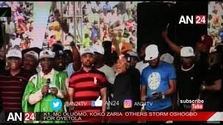 K1 MC OLUOMO KOKO ZARIA OTHERS STORM OSUN STATE FOR APC MEGA RALLY
