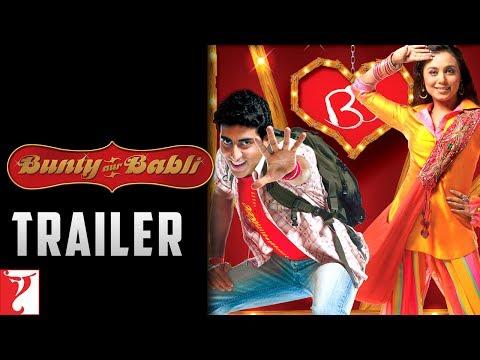 Bunty Aur Babli - Trailer   Abhishek Bachchan   Rani Mukerji   Amitabh Bachchan
