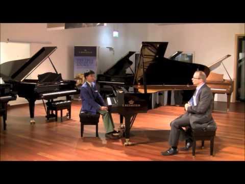 Kit Armstrong spricht über Bach-Transkriptionen - Interview mit Musikbeispielen