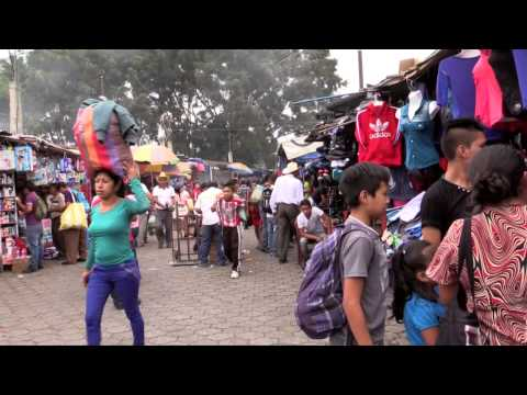 Market day in Antigua, Guatemala