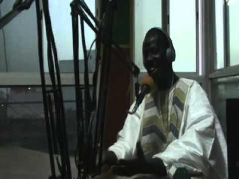 Libasse Mbaye à la Radio Fm Senegal
