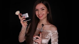 ASMR • Mic Brushing & Repeating Trigger Words (1+ Hour)
