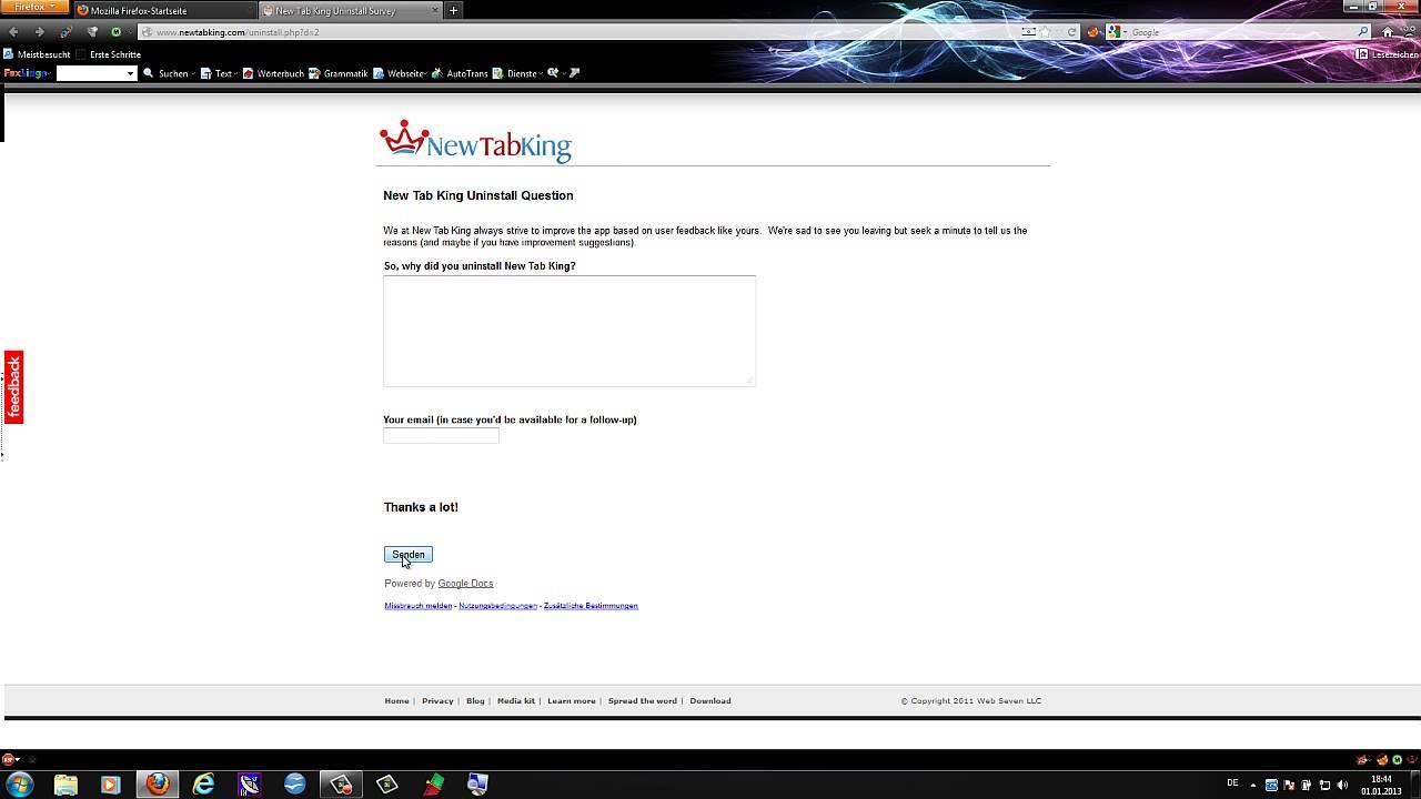 Firefox Plugins Deinstallieren