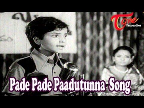 Seeta Mahalakshmi Movie Songs | Pade Pade Paadutunna Song | Chandra Mohan | Rameshwari