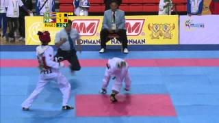 27th SEA GAMES MYANMAR 2013 - Taekwondo 19/12/13