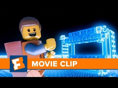 "The Lego Movie ""Entering Your Mind"" Clip HD 