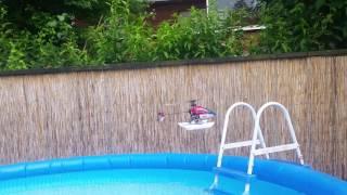 Blade mcpx mit Schwimmern Erster Test