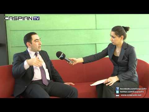 CaspianTV - Taleh Ziyadov - Azerbaycan Diplomasi Akademisi Öğretim Üyesi