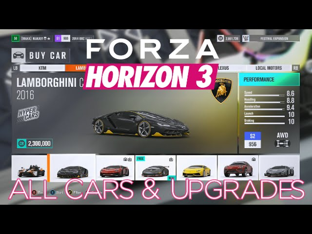 Forza Horizon 3 Mega Guide Unlimited Credits Skill Points Fastest Car Locations And More