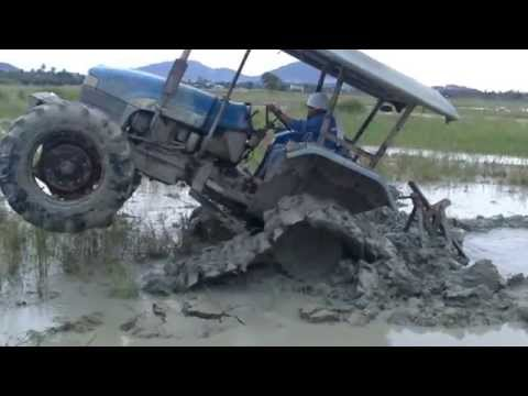 Tractor Track Wheelie