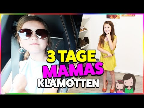 Ava trägt MAMAS KLAMOTTEN 3 Tage in der Öffentlichkeit 😂  Alles Ava
