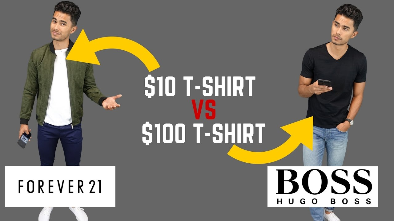 fdd918b659b4 Cheap Clothing vs Expensive Clothing - YouTube