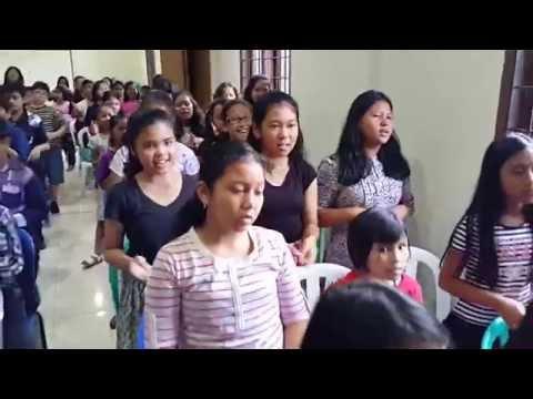 Sekolah Minggu HKBP Serpong: Yesus Disalibkan Karena KasihNya