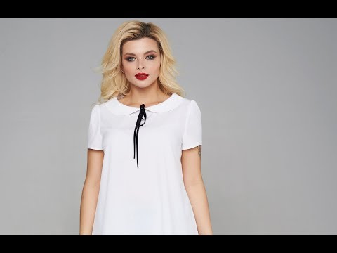 Блузка Мари-Лайн 1880 белый