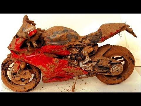 Restoration Of An Old Ducati 1199 Panigale Motorcycle ( Model ) | Restore A Small Ducati  Motorcycle