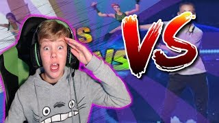 REACTING TO FORTNITE BAILES IN REAL LIFE