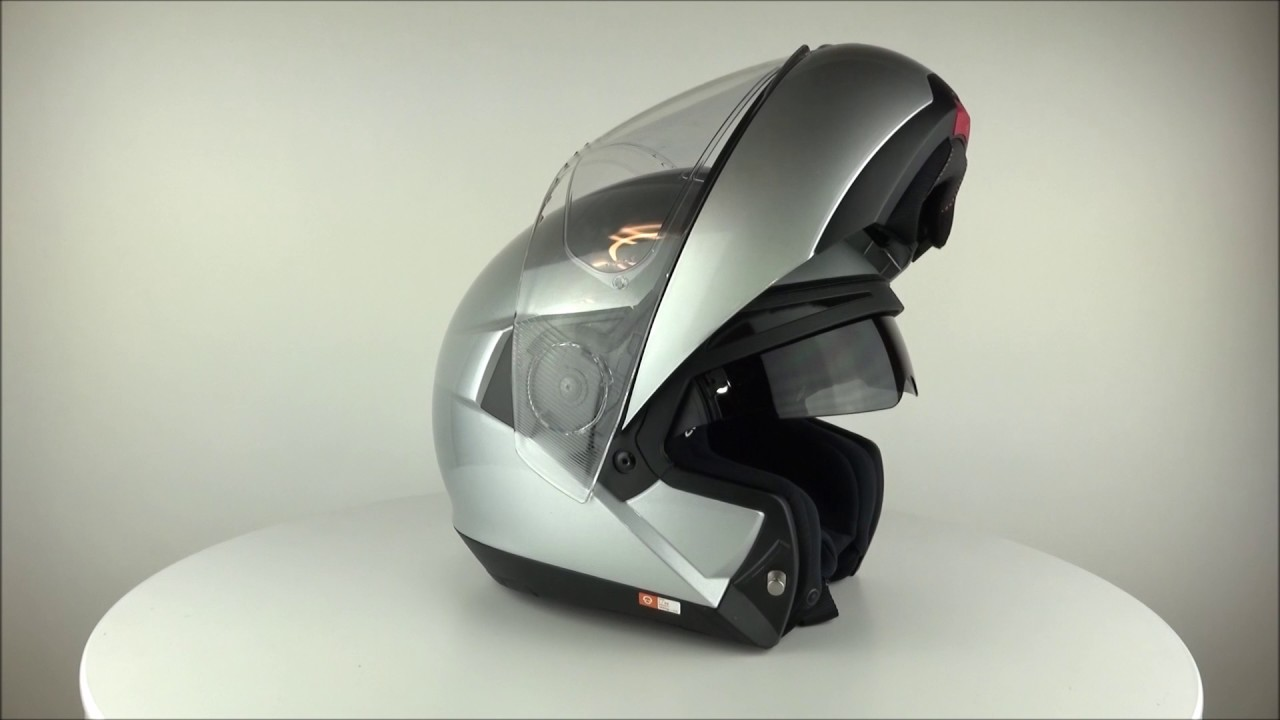 schuberth c4 glossy silver helmet. Black Bedroom Furniture Sets. Home Design Ideas
