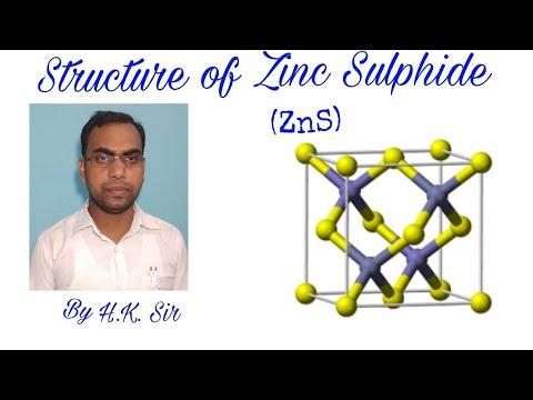 Structure of Zinc Sulphide (ZnS)