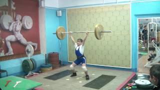 Маклаков Тимур, 13 лет, вк 46 Толчок 50 кг