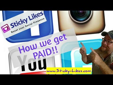 StickyLikes ~ How we get paid