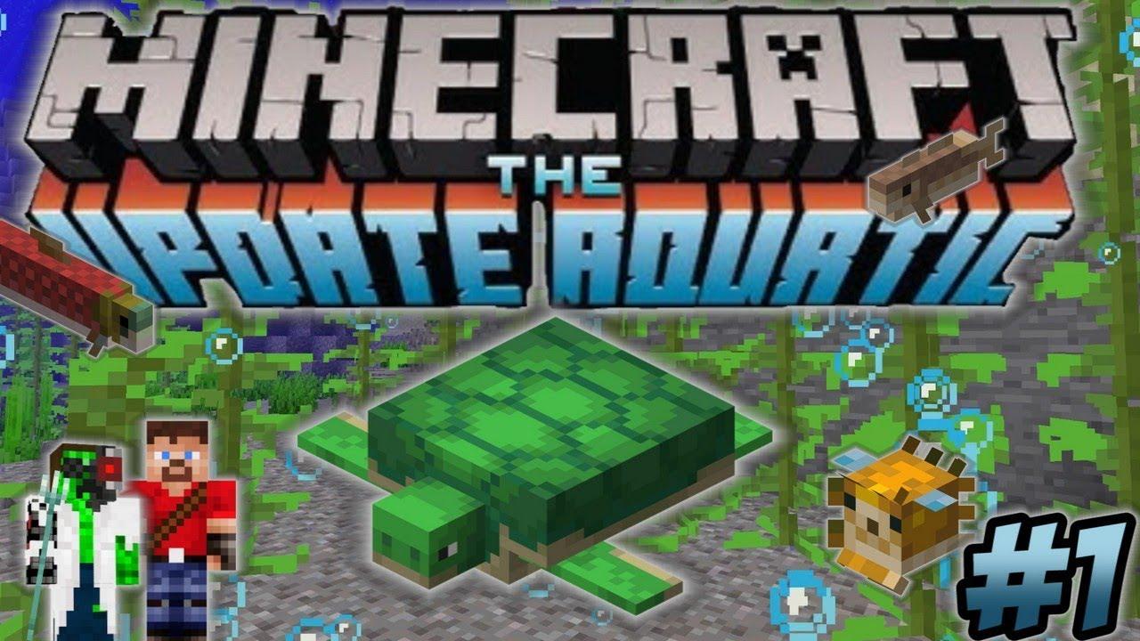 Minecraft Update Aquatic Turtle Farm Underwater Base - Ren & Doc Build  Stuff #1